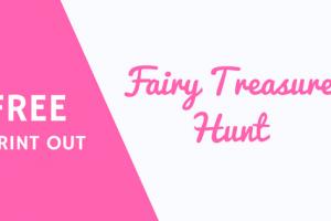 Fairy Day treasure hunt