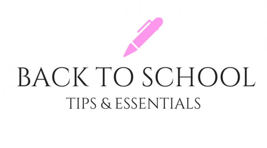 My Back To School Favourites